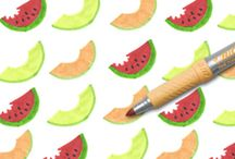 Summer Melon / Summer Melon / by BIC Mark-It