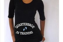Sports Related Maternity T-shirts