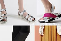 Footwear key shapes