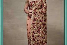 Stunning Bollywood sarees / Shop now - http://bit.ly/1YfSC2i