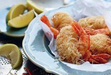 Γαρίδες με κανταΐφι / Μια εύκολη συνταγή για μεζέ από γαρίδες