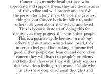 cancerian!