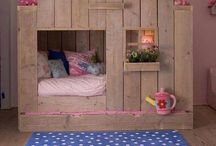Little girls bedroom ideas / by Artist Brenda Pinnick