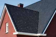 Woningbouw | Classica / Inspiratie voor keramische woningbouw met stijlkenmerken: statuur, elegant, grandeur, tijdloos. Ideeën voor toepassing van keramische dakpannen en gevelstenen.