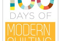 Modern Quilt Guild - 100 Days / info and tutorials from the MQG