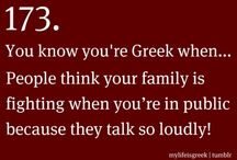 You know you're Greek!