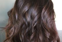 brown hair chocolate
