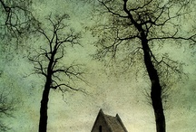 Creepy houses and scary things