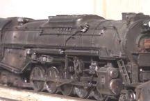 video di treni Americani reali e nel modellismo