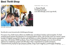 San Antonio thrift stores / by Mary Elizabeth Cantu