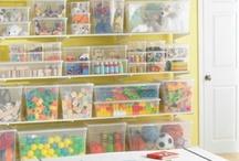 Playroom Storage Ideas / by Jen Pierce Watts