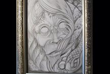 Art / Paintings, drawings etc I have been working on.