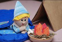 Elves (Elf on the Shelf) / Ideas for your Elf this Christmas.