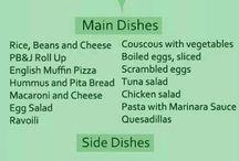 Alex food ideas