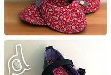 pantufas e sapatilhas