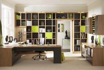 Offices / Home offices and libraries that I would love to work in.