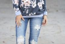 floral fix / Erica - hoping for all florals this time.  I love, love the sweatshirt/hooded style of tops.  Floral themed shoes would be awesome, too.   Floral themed accessories would be great, too.
