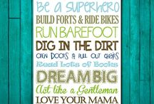 For Baby Boy's room! / by Tori Wright