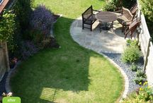 Garden for me / This is a collection of ideas for my garden definitely want some soft edges / circles
