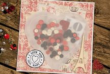 Valentine's Day Project Ideas / Some #crafty projects with a #romantic theme.