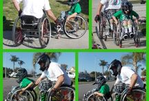 wheelchair tricks