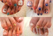 pedicure nailart