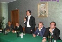 Incontro fra il Collegio degli Agrotecnici ed il Sottosegretario MIPAF On. Avv. Antonio Buonfiglio / BELMONTE CALABRO (CS), 8 Agosto 2008