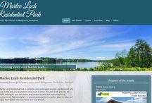 New website for Marlee Loch Residential Park