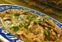 Cream and Mushroom Pork Chops / Pork Chops
