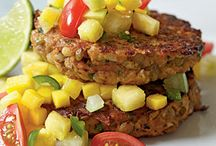 vege burger recipes / by Eileen Wolf