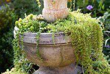Etagere für Garten