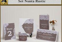 Set nunta Rustic