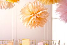 Decorating | Wedding table ideas / by Sara Quinnett