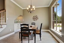 Dining Areas / Dining areas should boast elegance and sophistication, while still providing the comforts necessary to enjoy a beautiful home cooked meal