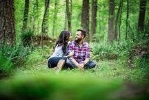 Engagement Portrait Photography / Engagement Photography by Raleigh, North Carolina based Wedding Photographer, Paul Seiler. For more, visit https://www.paulseiler.net