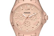 Rose gold tint watches