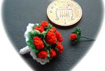 Buttercup Miniatures 1:12th scale crochet patterns / 1:12th scale patterns I have designed