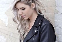 Hair color and style I like