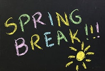 Spring Break Ideas / by Dr. Melanie Wilson @psychowith6
