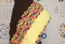My crochet / 모도리가 코바늘뜨기로 만든 것들