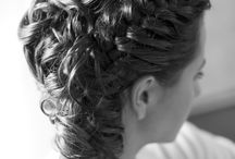 Bridal hairstylist in Rome / Here you can see some of the examples of bridal hair such as updos.