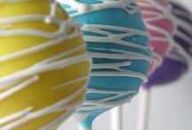 Cake Pops & Balls / Fancy cake pops and decoration ideas.