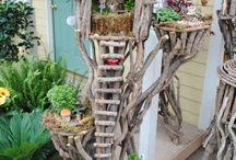 Casas da árvore de fadas
