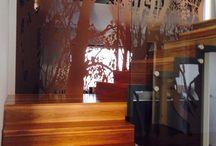 Hallway, stairway / Modern classic contemporary.