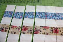 Postage Stamp Quilts / Patience!