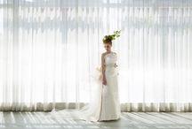 JAPANESE DRESS / 日本古来の文化を今に伝える、和装の艶やかな伝統美と洋のフォルムの融合美。 着物の個性を最大限に生かし、その織りや染に合わせて、オリジナルデザインで製作しております。
