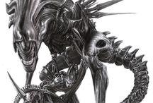 Aliens & Predators