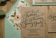 Myrtle's inky invites / Put yours & his stamp on your wedding invites