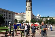 Demi-journée citoyenne de nettoyage approfondi / Le 21 mai 2016, l'association des Amis de la place Antonin Poncet organisa sa première demi-journée citoyenne de mise en valeur de la place, avant la saison touristique et les festivités de l'EURO 2016.