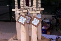 houten zwaarden